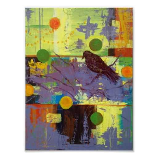 Poster del cuervo del mago póster