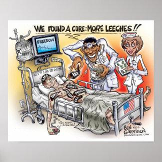 Poster del cuidado de Obama Póster