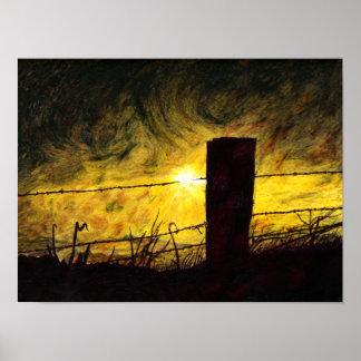 Poster del ~ de la tormenta del horizonte
