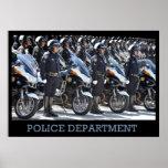 Poster del Departamento de Policía