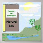 Poster del derecho natural