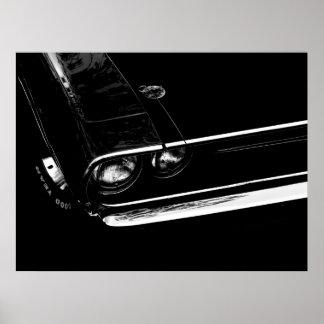 Poster del desafiador de Dodge Póster