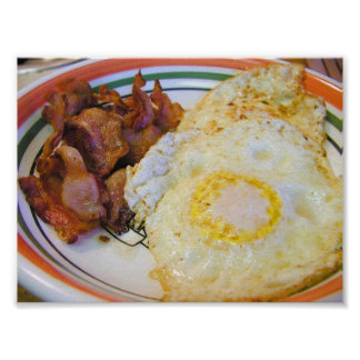 Poster del desayuno