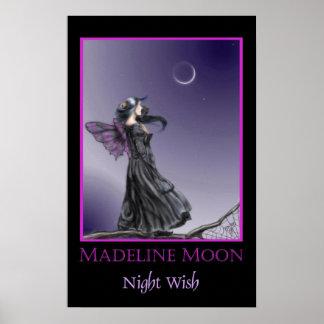 Poster del deseo de la noche