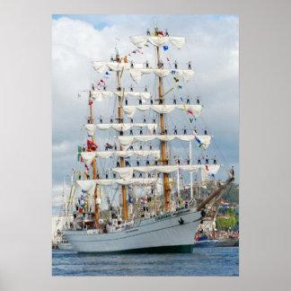 Poster del desfile de Sailingship Póster