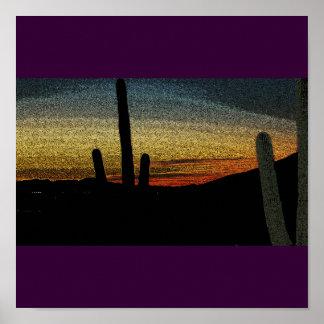 Poster del desierto
