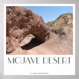 ¡Poster del desierto de Mojave! Póster