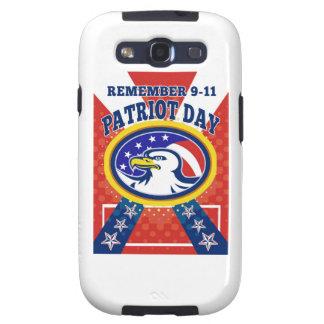 Poster del día 911 del patriota de American Eagle Samsung Galaxy S3 Cobertura