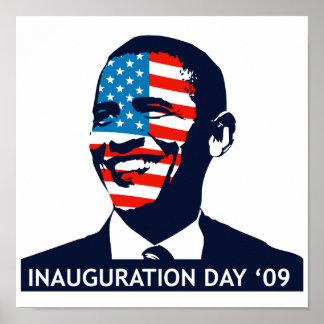 Poster del día de inauguración de Obama