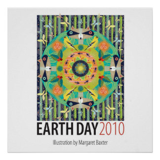 Poster del Día de la Tierra