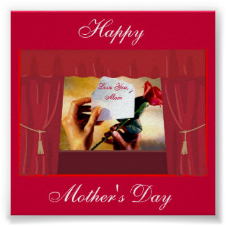 Poster del día de madre