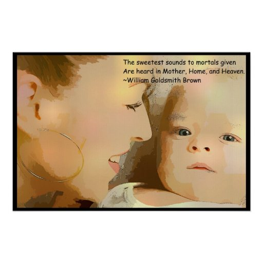 Poster del día de madre póster