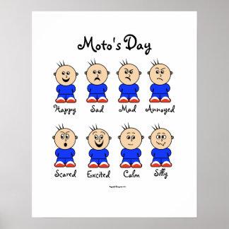 Poster del día de Moto
