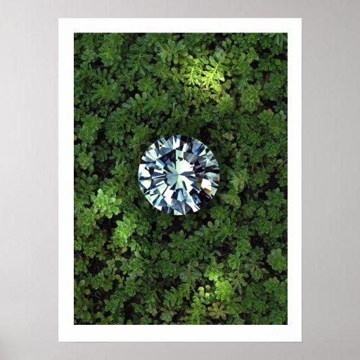 Poster del diamante en bruto