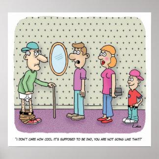 Poster del dibujo animado de la diversión del Gran