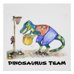 Poster del dinosaurio
