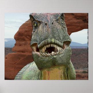 POSTER del dinosaurio de Rex del Tyrannosaurus