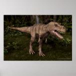 Poster del dinosaurio de T-Rex