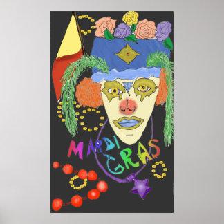 Poster del diseño 1 del carnaval