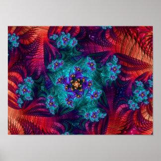 Poster del diseño de 579 fractales
