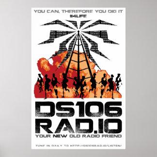 Poster del diseño de la apocalipsis de DS106RAD IO