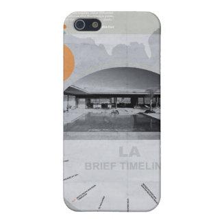 Poster del diseño de Los Ángeles iPhone 5 Fundas
