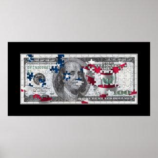 Poster del dólar de EE. UU.