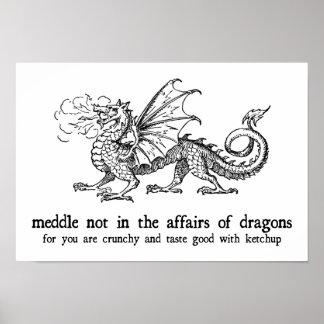 Poster del dragón
