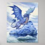 Poster del dragón del hielo