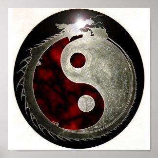 Poster del dragón del milenio de los AE