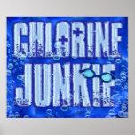 Poster del drogadicto 1 del cloro