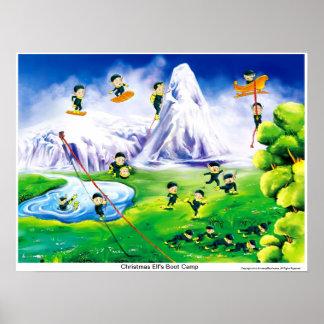 Poster del duende del navidad, navidad poster, pos