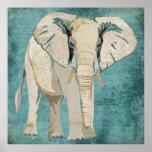 Poster del elefante blanco
