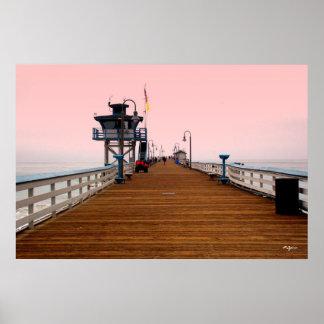 Poster del embarcadero de San Clemente