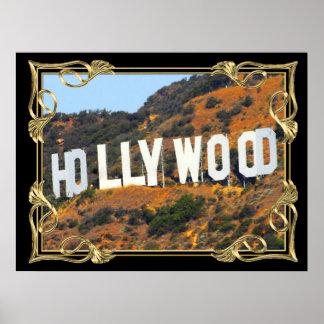 Poster del encanto de Hollywood A PARTIR del 14,95