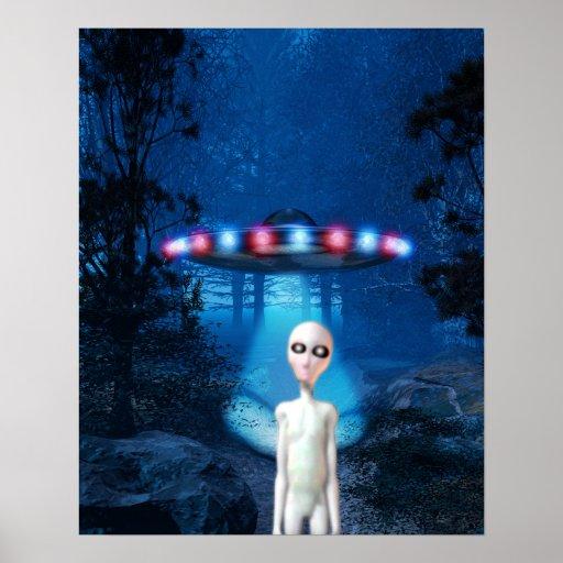 Poster del encuentro del cierre del UFO del bosque