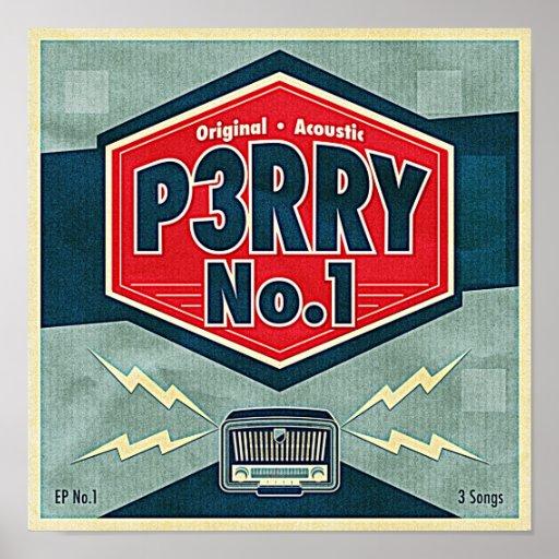 Poster del EP No.1 de P3RRY