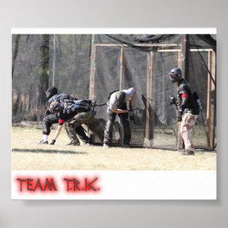 Poster del equipo T.R.I.C.