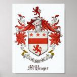 Poster del escudo de armas de McBrayer