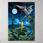 Poster del escupitajo del dragón