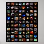 Poster del espacio de Hubble