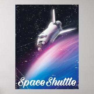 Poster del espacio de la ciencia ficción del póster