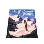 Poster del esquí de Wolf Creek Colorado Impresión En Lienzo