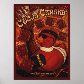 Poster del estabilizador del cacao