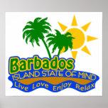 Poster del estado de ánimo de Barbados