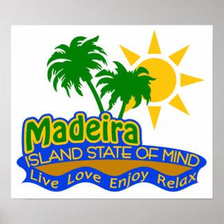 Poster del estado de ánimo de Madeira