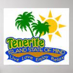 Poster del estado de ánimo de Tenerife