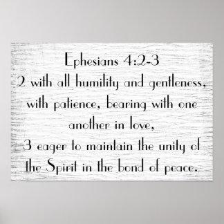 Poster del estímulo del verso de la biblia del póster