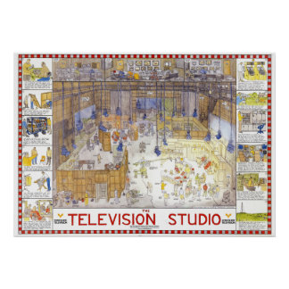 Poster del estudio de la TV de Tim Hunkin
