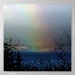 Poster del extremo del arco iris